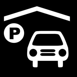Auto im Carport